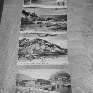 (5) Vintage French Post Card Lot 1918
